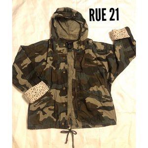 3 for $25✨ RUE 21 Camo Jacket